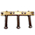 Rutters 1953 Brass Saddles, Step-Notched, Straight Comp Additional View