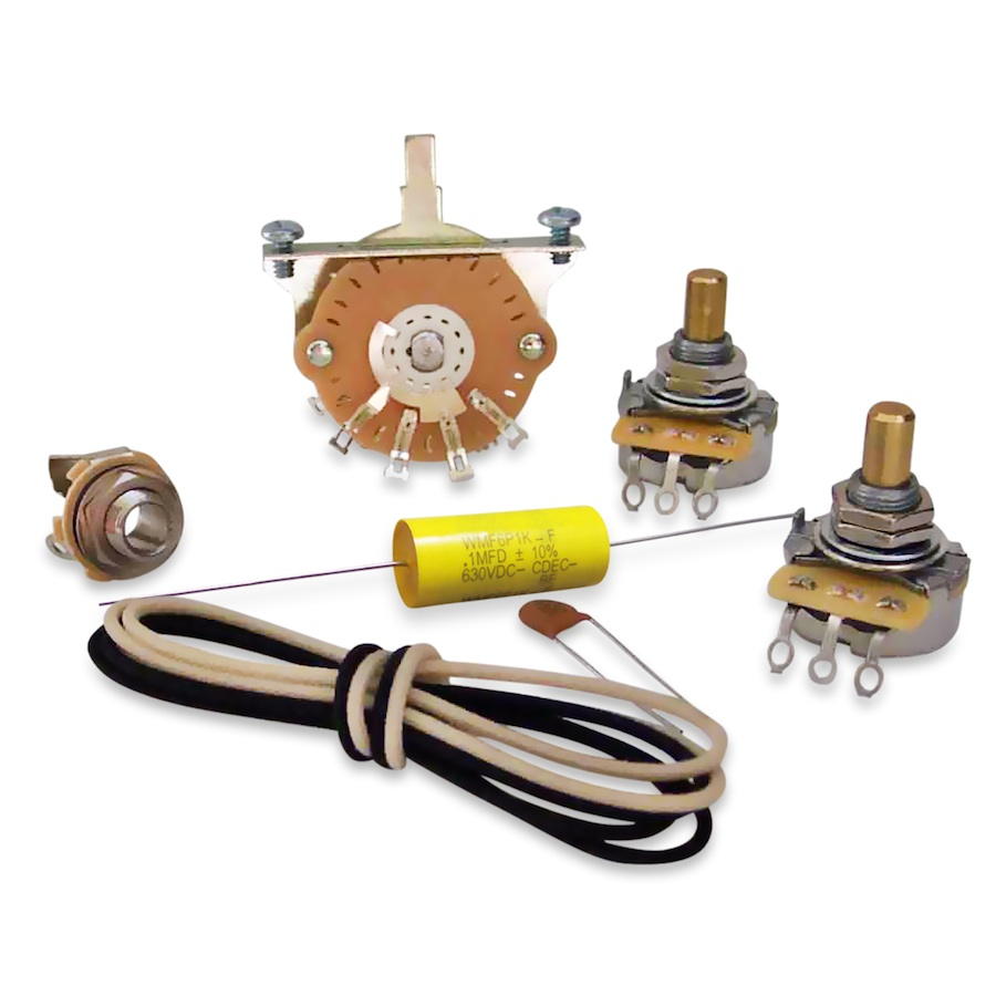 Electronics Upgrade Kits For Telecaster Free Shipping Over 75 1994 Fender Wiring Diagram Premium Kit View Larger Magnifier